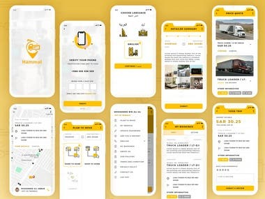 Marketplace logistics App