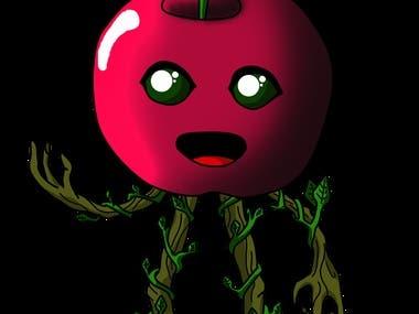 Apple groot