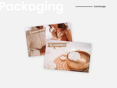 Packaging - Cards