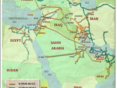 Oil and Gas Infrastructure - Middle East