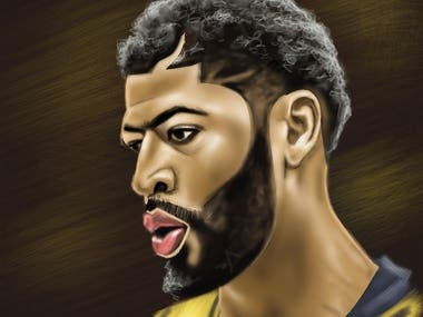 Anthony Davis Digital Portrait