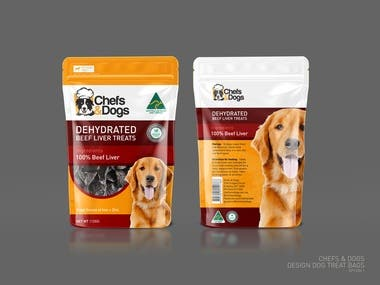 Design dog treat bags