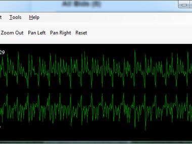 Waveform chart control