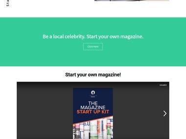 How to start magazine