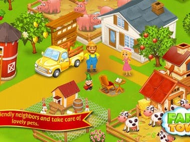 Farm Town™: Cookie Day