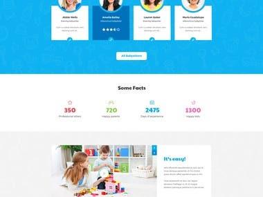 Babysitter Website
