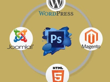 Convert PSD to html with perfect responsive