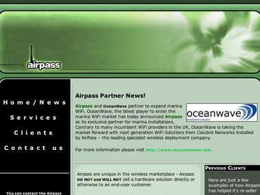 Airpass Website