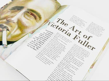 KNOCKOUT Magazine - The Art of Victoria Fuller 1
