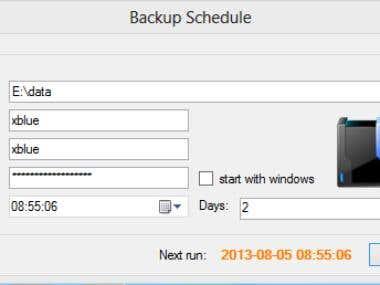 Backup Schedule for MySQL