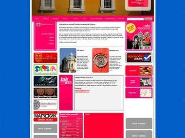 Tourism organisation site