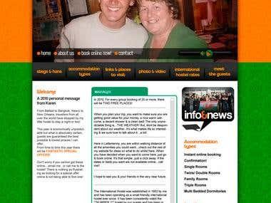 Apartmane web site