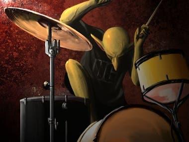 Drummer Goblin