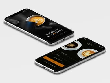 Coffee Delivery App Mockup