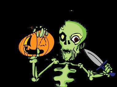 Another Halloween Vector Art