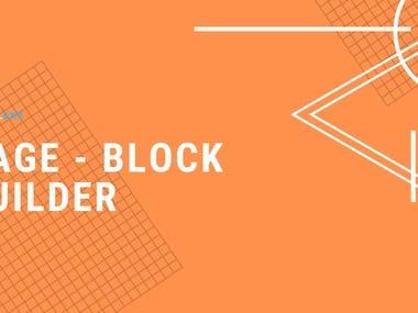 Drupal 8 Page/Block Builder