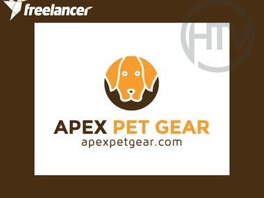 Logo for a pet brand