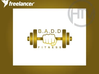 Logo for a Fitness Brand