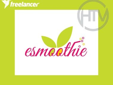 Logo for a drinking juice brand