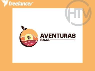 Logo for a tourist adventure brand