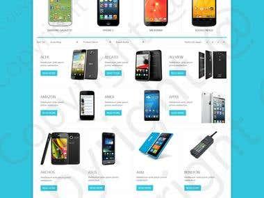 Website for mobile phones