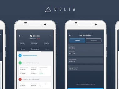 Cryptocurrency mobile Wallet App development