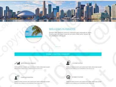 Trip resort website