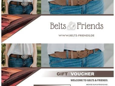 Belts-Friend Voucher Card