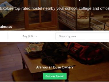 Hostel Search: M.P.'s top property search and rent platform