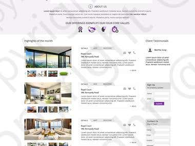 Property site inner page