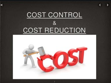BOM Cost Reduction