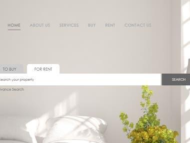 Home Rental Website