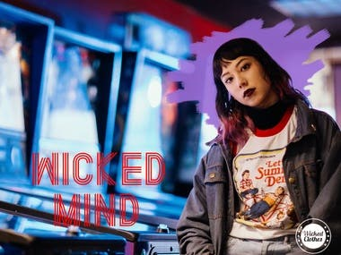 Wicked Clothes Mock Ads