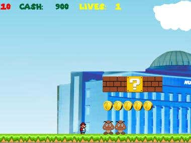 JAVA 2D Graphics based game similar to MARIO