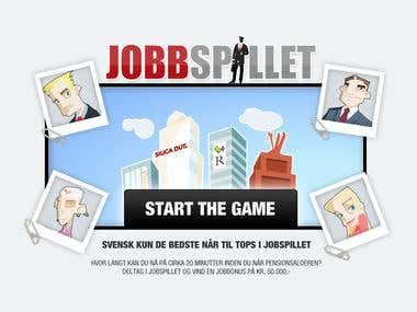 Online game - JobSpillet