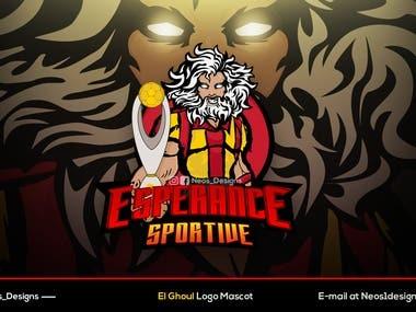 Logo mascot E-sports
