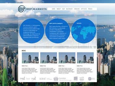 Bussiness site design