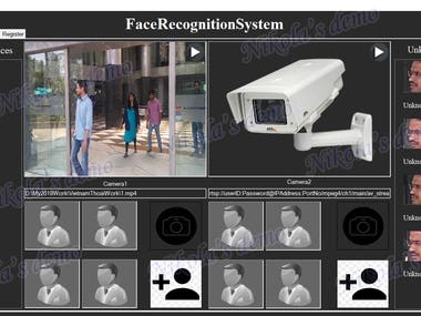 Real Time Face Recognition and Age Gender estimation