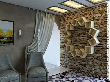 guest room _ Interior design