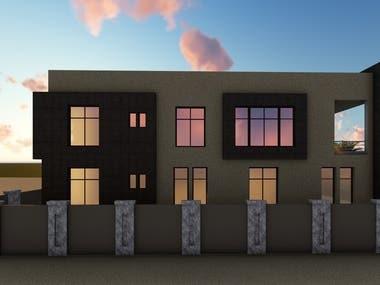 Residential Building _ Exterior design
