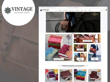 E-Commerce Website in WordPress