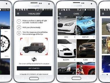 car rental app