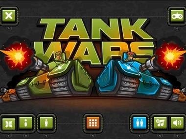 Tank Wars - HTML5 Game