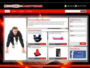 Hockey Shop (PHP)