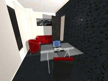 Marketing company interior design