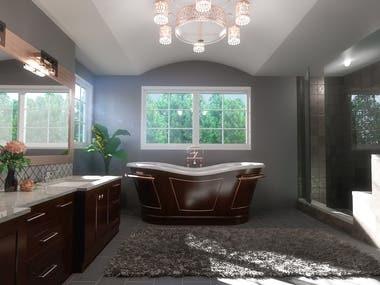 Bathroom Scene