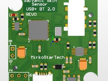 Galvanic Skin Response Measurement hardware design