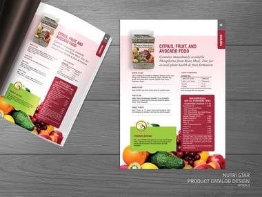 Retail product brochure/catalog
