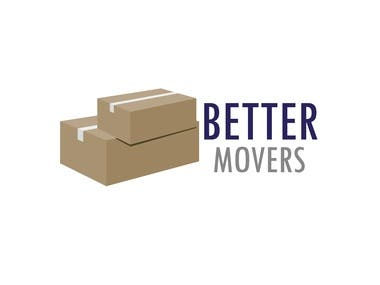3D Type Logo For Packers and Movers Company