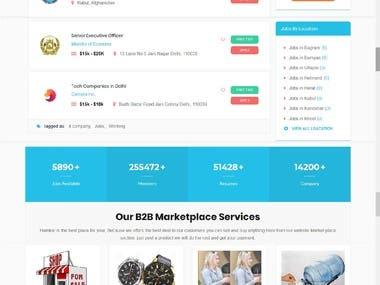 Job Portal | RFPs RFQs | Marketplace | Memberships